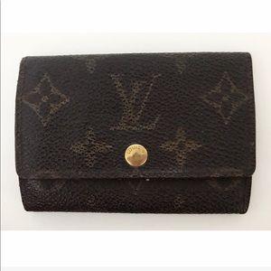 💯Authentic Louis Vuitton 6 Hook Key Holder Case